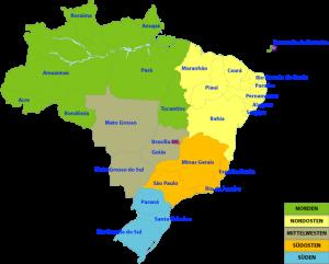BrasilienKarte